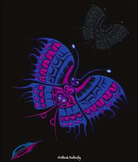 "The Heiltsuk Butterfly ""The Strength Within"""