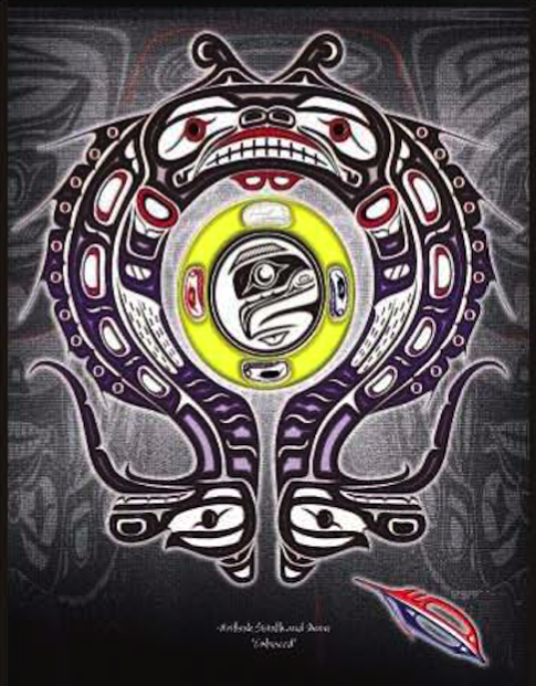 "Heiltsuk Sisiulth & Moon ""Embraced"""