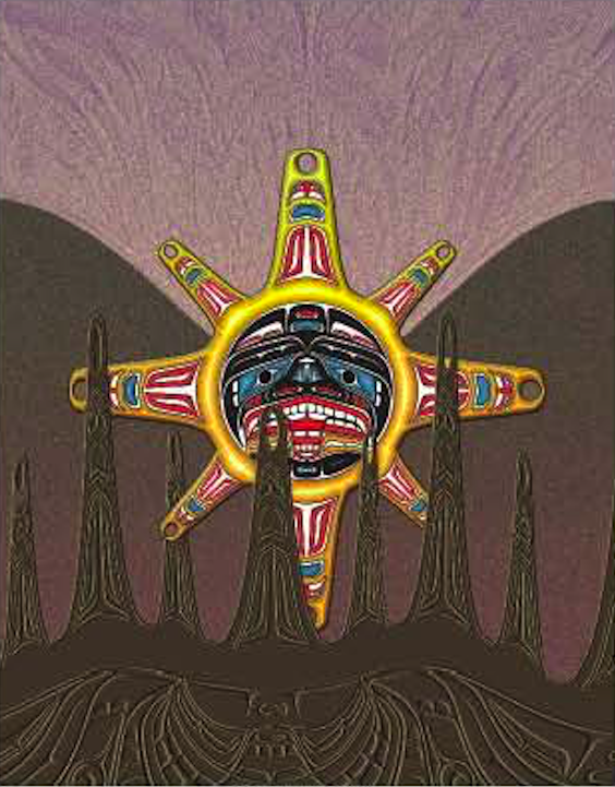 Heiltsuk Sun Birth Of the Totem